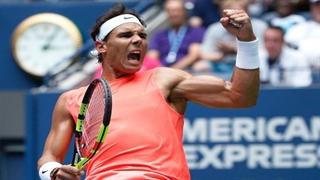 صعود سخت نادال به نیمه نهایی تنیس آزاد آمریکا
