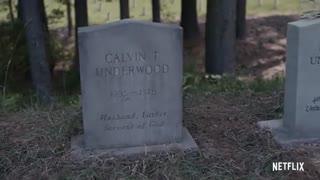 نتفلیکس در تیزر جدید «خانه پوشالی» سنگ قبر فرنک آندروود را به نمایش گذاشت!