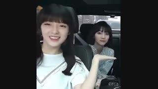 کاور اهنگ Fire  از BTS  توسط ارین و بینی از Oh My Girl