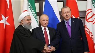 نشست مطبوعاتی روحانی، پوتین و اردوغان