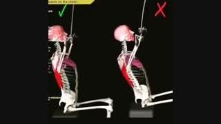 آرنولدشو. آموزش حرکت زیربغل لت از جلو در بدنسازی