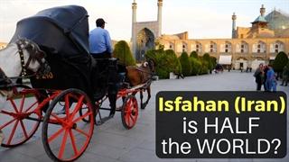 روایت توریست آمریکایی از اصفهان : اینجا نصف جهان است