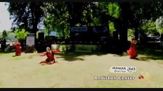 رقص زیبای مازندرانی