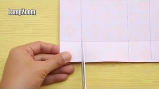 آموزش ساخت جعبه کادویی یک تکه