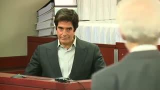 دیوید کاپرفیلد وادار به به فاش کردن اسرار تردستیش در دادگاه شد !
