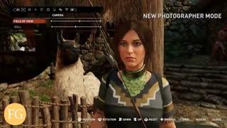 تریلر جدید بازی Shadow of The Tomb Raider (ارتقاء گرافیگی بر روی  XBOX One X )