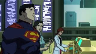 دوبله فارسی انیمیشن مرگ سوپرمن The Death of Superman 2018