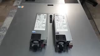 تعویض HP Power Supply در سرور HPE DL380 G10