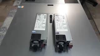 تعویض HP Power Supply در سرور HPE DL380 G10