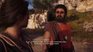 20 دقیقه ابتدایی بازی Assassin's Creed Odyssey