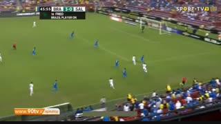 خلاصه بازی دوستانه: برزیل ۵-۰ السالوادور