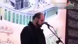 ویدئویی از نوحه سرایی محمد اصفهانی؛ یار میگوید حسین، دلدار میگوید