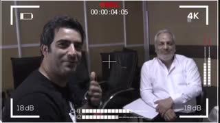 ویدیویی از پایان بازی مهران مدیری در فیلم سینمایی «رحمان ۱۴۰۰»