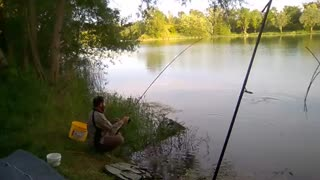 زیباترین فیلم ماهیگیری کپور در سد به روش انتظاری