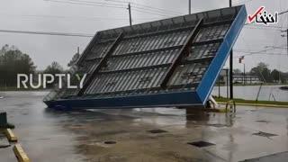 خسارات طوفان شدید فلورانس در آمریکا  تعداد کشتهها به ۶ نفر رسید
