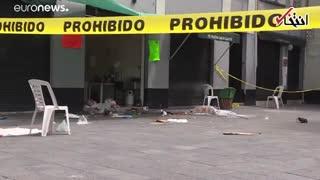 موزیک و رگبار گلوله؛ ویدئویی از حمله مردان مسلح در مکزیکو سیتی