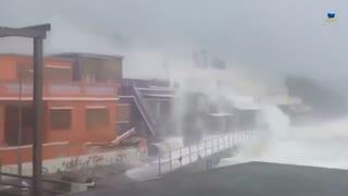 طوفان و سیل چین را فلج کرد (16 سپتامبر 2018)