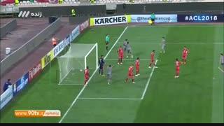 خلاصه لیگ قهرمانان آسیا: پرسپولیس ۳-۱ الدحیل