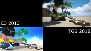مقایسه گرافیکی نمایش Kingdom Hearts III در TGS 2018 با تریلر E3 2013