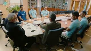 نشست صمیمی ساحلیبازان با ریاست فدراسیون والیبال