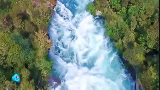 ابهت و قدرت این آبشار شما را به وجد میآورد