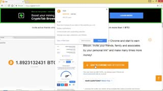 کسب درآمد رایگان از اینترنت با استفاده از افزونه استخراج رایگان بیت کوین