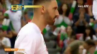 خلاصه والیبال قهرمانی جهان: بلغارستان 3-0 ایران