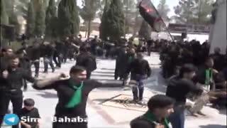 محرم ۹۷ مسجدصاحب الزمان (عج )روزتاسوعا گلزارشهدای گمنام بهاباد یزد