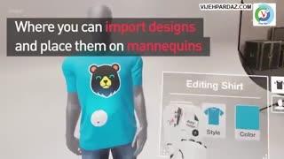 طراحی لباس با واقعیت مجازی در Thread Studio
