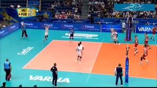 خلاصه بازی ایران 3 - پورتوریکو 0 (قهرمانی جهان 2018)