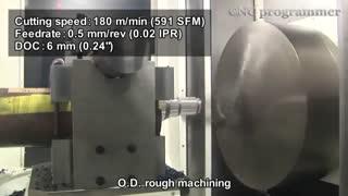 یکی از خطرناک ترین دستگاه های CNC جهان