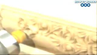 ماشین CNC ساده برای کارهای چوبی