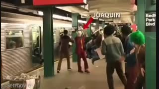 ویدئویی لورفته از پشت صحنه فیلم Joker