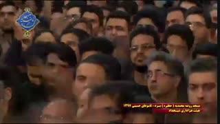 عزاداری هیئت شیخداد یزد در روز تاسوعا|بخش آخر|مسجد روضه محمدیه(حظیره)یزد|محرم 1397