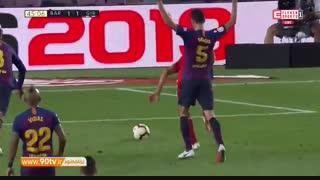 خلاصه لالیگا: بارسلونا ۲-۲ خیرونا