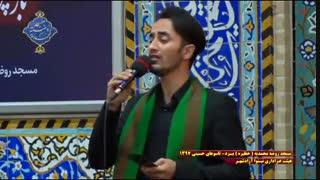 عزاداری هیئت نینوای آزادشهر یزد در روز تاسوعا|بخش آخر|مسجد روضه محمدیه(حظیره)یزد|محرم 1397