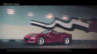 تیزر تبلیغاتی خودروی فراری Portofino