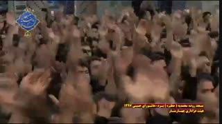 عزاداری هیئت چهارمنار یزد در روز عاشورا|بخش دوم|مسجد روضه محمدیه(حظیره)یزد|محرم 1397