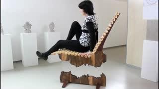 ساخت صندلی معلق زیبا