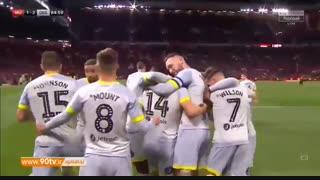 خلاصه جام اتحادیه: منچستریونایتد (۷) ۲-۲ (۸) دربی کانتی