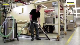 مکنده صنعتی | وکیوم کلینر آب و خاک | جارو صنعتی