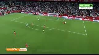 خلاصه لالیگا: سویا ۳-۰ رئال مادرید