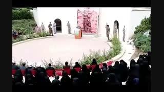 افتتاحیه نمایشگاه دفاع مقدس در منطقه 18 تهران