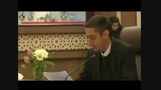 سخنرانی صریح مهدی حاجتی عضو شورای شهر شیراز پیرامون مافیای آب و سد سازی