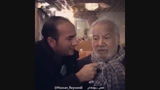 خاطره با زنده یاد ناصر ملک مطیعی