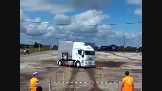 بهترین راننده کامیون در جهان