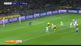 خلاصه لیگ قهرمانان: دورتموند 3-0 موناکو