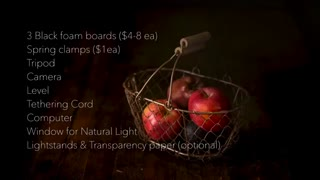 Dark food photography tutorial Aaron Lyles