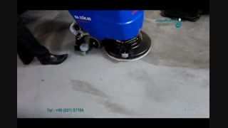 اسکرابر- شستشوی باورنکردنی سطوح کف با دستگاه کفشوی