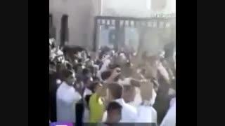 عزاداری شیعیان کنارقبرستان بقیع!؟